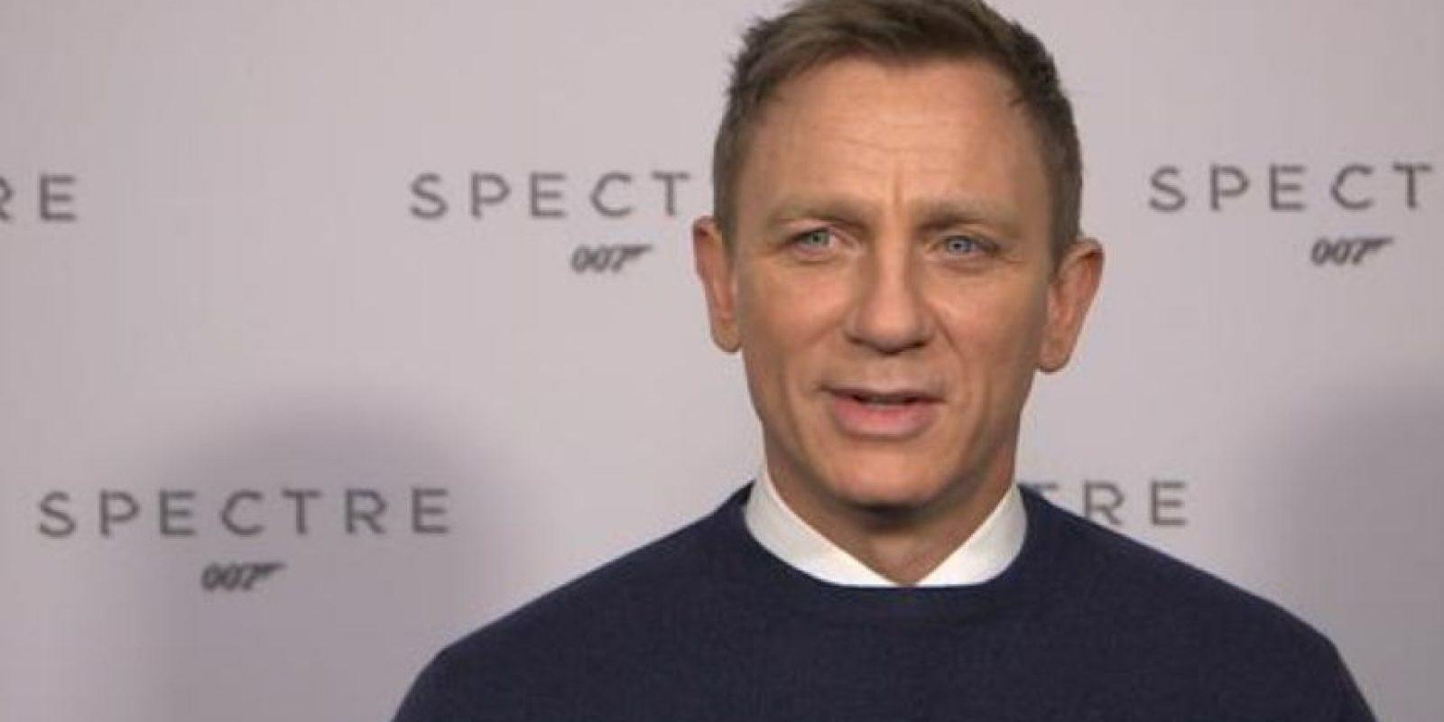 Craig generalmente va de frac a sus eventos. Foto:Getty Images