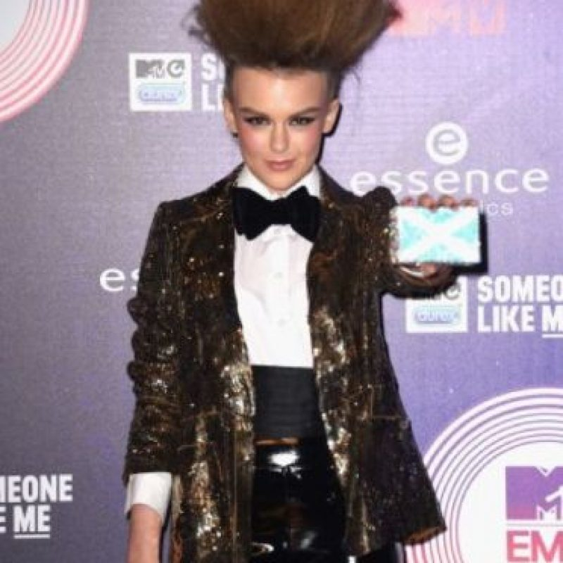 Tallia Storm, en los EMA. Foto: Getty Images