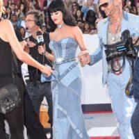 Este era muy distinto. El de Katy tiene parches. Foto:Getty Images