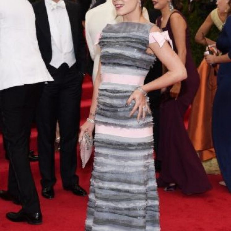 Lily Allen, en el mismo evento. Foto:Getty Images