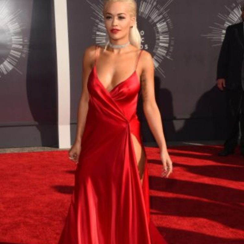 Rita Ora, en el mismo evento. Foto: Getty Images