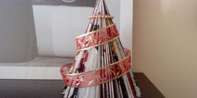 VIDEO: Tutorial de cómo hacer un árbol de Navidad en menos de 5 minutos
