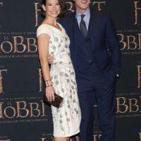 Estuvo al lado de su compañera de reparto, Evangeline Lilly Foto:Getty Images