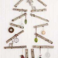 Cualquier elemento puede utilizarse como decoración, tal como los troncos. Foto:Tumblr.com/Tagged-árbol-reciclado