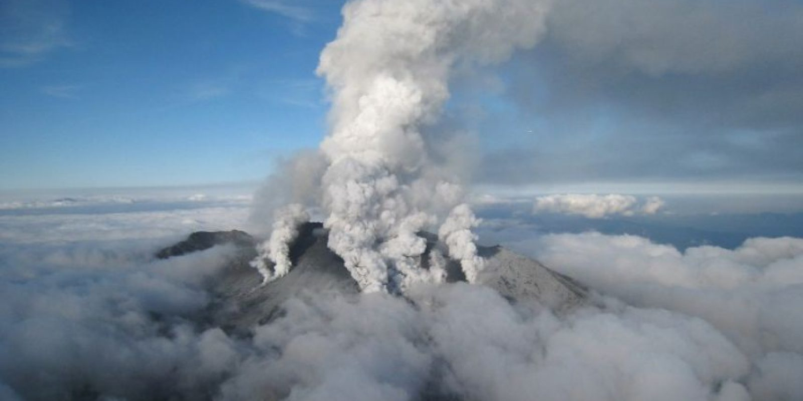Japón – Monte Ontake Foto:AFP