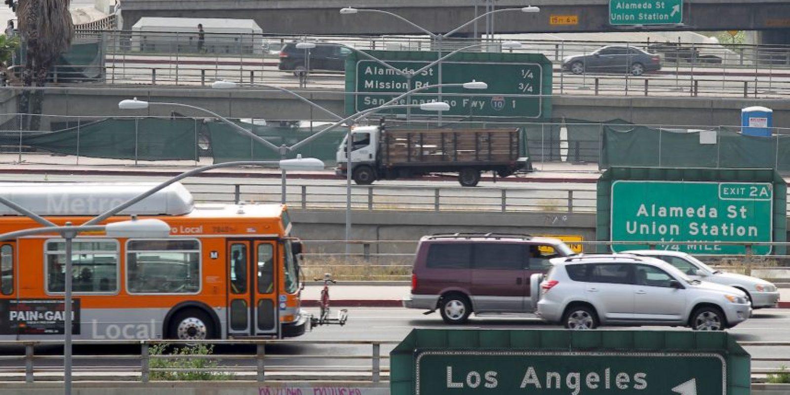 Los usuarios se quejan de no encontrar la glamorosa ciudad que dicen que es Los Ángeles. Estos la describieron como una ciudad sucia y peligrosa. Foto:Getty