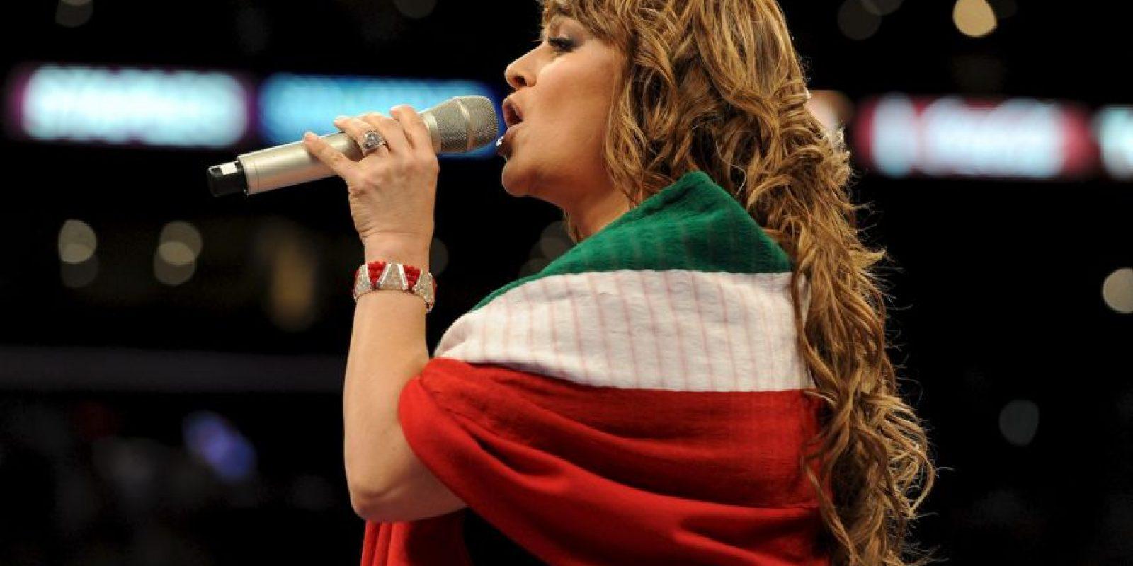 Es una de las intérpretes de banda sinaloense más importantes Foto:Getty Images