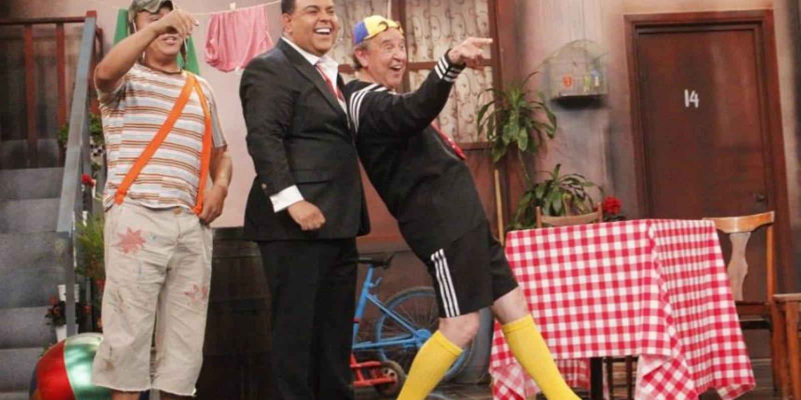 """El comediante Edwin Sierra encarnó al personaje de Chespirito """"El chavo del ocho"""" Foto:Fscebook/Porque hoy es sábado"""