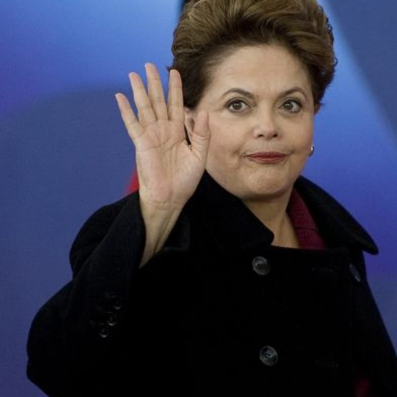 Dilma Rousseff – Brasil. Foto: Getty Images
