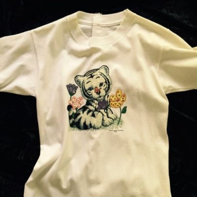 Una blusa de Britney Spears cuando era niña Foto:Cooperowen.com