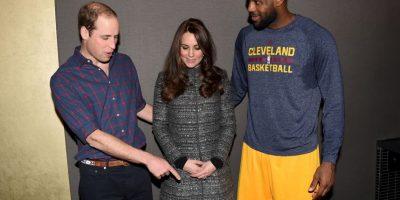 Así fue la visita de los miembros de la realeza a The King Foto:Getty