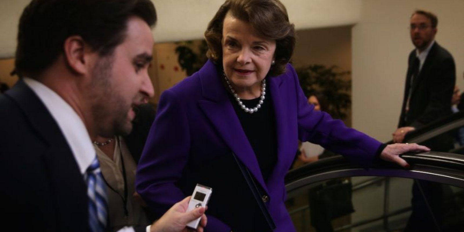 Dianne Feinstein indicó que los métodos utilizados por la CIA fueron de tortura. Foto:Getty Images