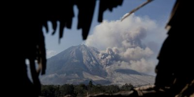 Indonesia – Sinabung Foto: Getty Images