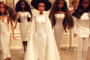 """La versión con """"Barbie"""" Foto:Instagram"""