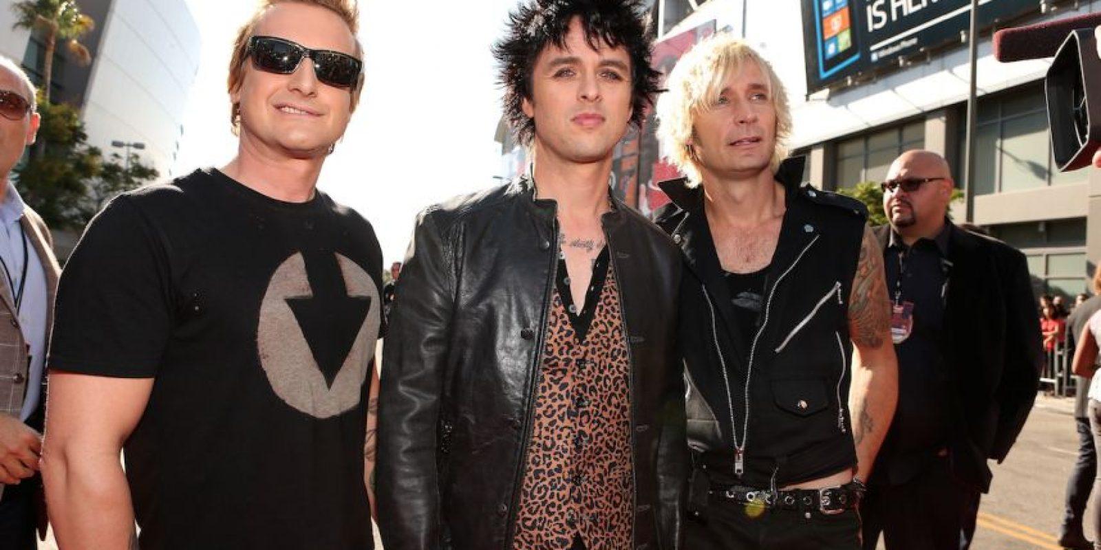 Actualmente, Green Day está nominada para ingresar al Salón de la fama del Rock and Roll en 2015. Foto:Getty Images
