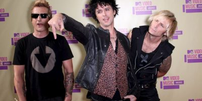 Tre Cool, Billie Joe Armstrong y Mike Dirnt Foto:Getty Images