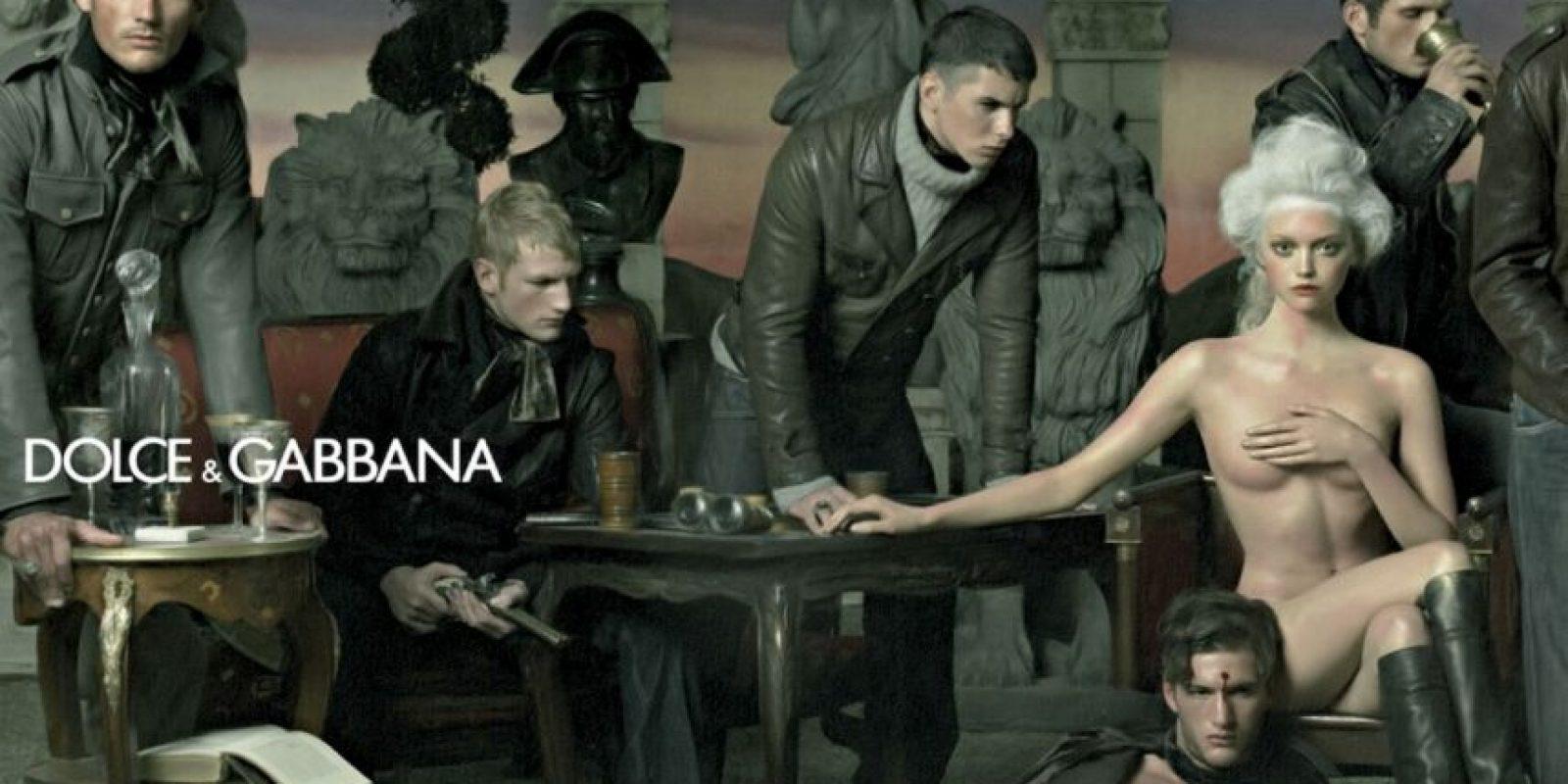 No, moda. Anuncio de Dolce & Gabbana. Foto:Dolce & Gabbana