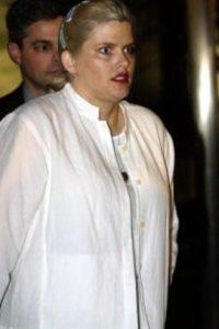 Anna Nicole Smith es el caso más célebre y triste. Foto:Getty Images