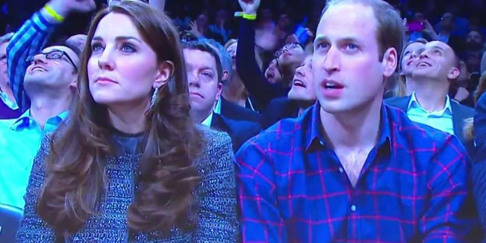 Fueron captados por las pantallas del lugar Foto:NBA Highlights