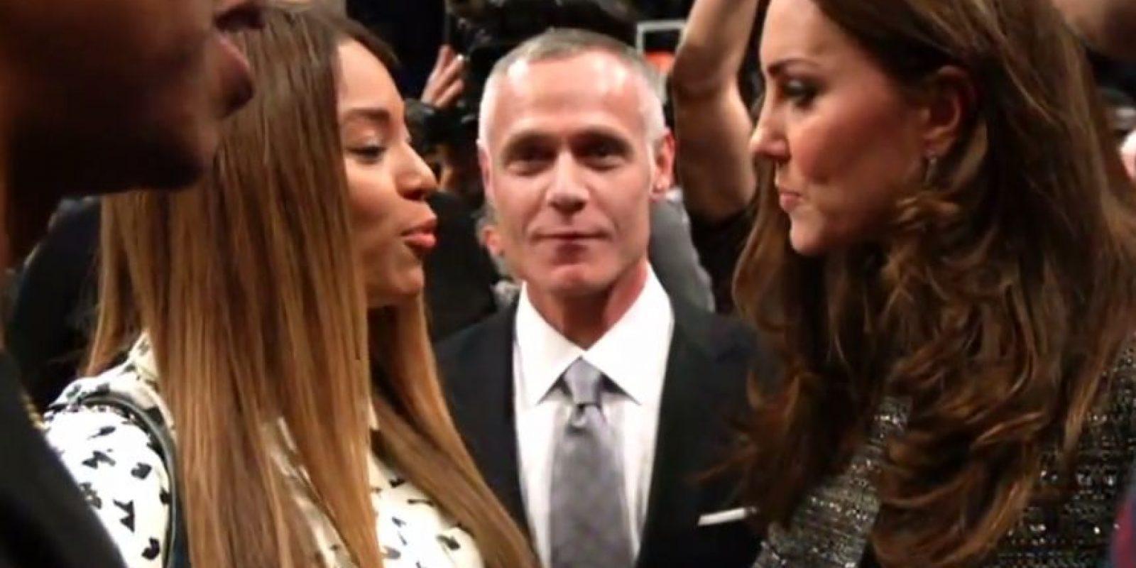 Beyoncé y Kate Middleton Foto:NBA Highlights