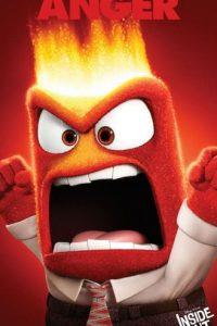 """Anger"" (Enojo en español) Foto:Facebook/Inside Out"