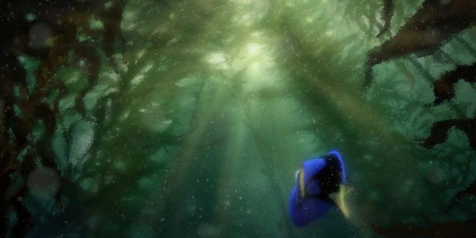 Andrew Staton, quien además de dirigir la primera película trabajó en A bug's life y Wall-E, planteará el origen de Dory y sus problemas de pérdida de memoria. Foto:Facebook/Finding Dory