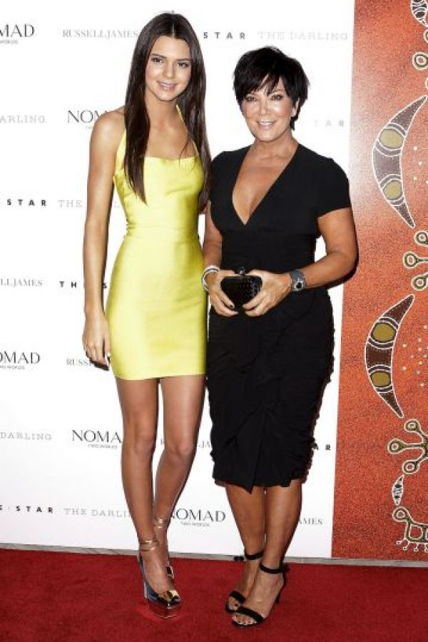 Kendall Jenner y Kris Jenner Foto: Getty Images