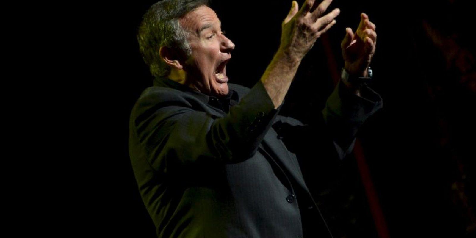 Surgió por la muerte del reconocido actor Robin Williams Foto:Getty Images
