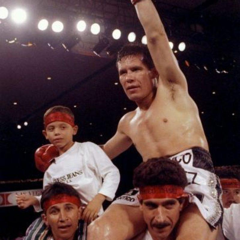 El gran campeón mexicano consiguió 87 victorias seguidas entre 1980 y 1993 Foto:Getty