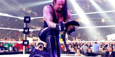 Los demonios en sus brazos forman parte de su oscura personalidad en el cuadrilátero Foto:WWE