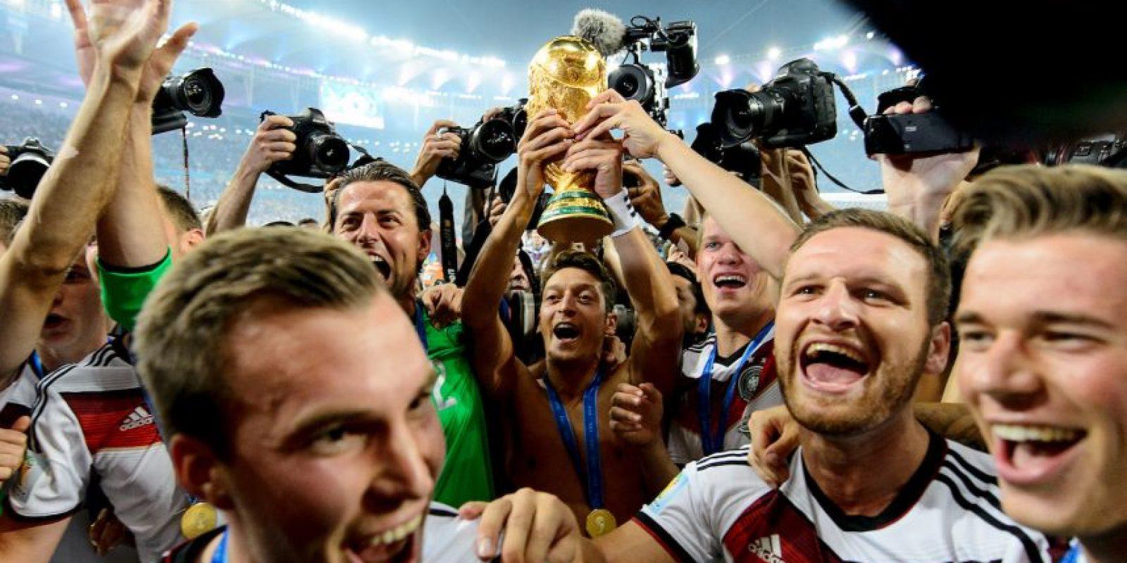 Alemania, campeón de la Copa Mundial de Brasil 2014 Foto:Getty Images