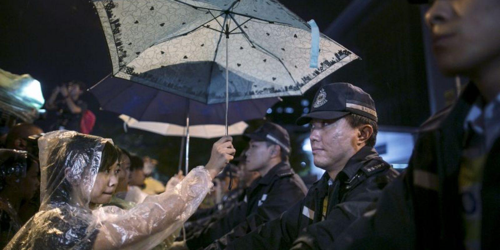 #UmbrellaRevolution: Foto:Getty Images