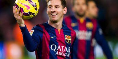Lionel Messi, el genio culé, estará en la cancha Foto:Getty