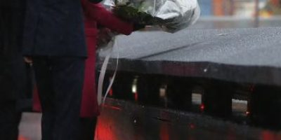 FOTOS: Duques de Cambridge visitan monumento de víctimas del 9/11