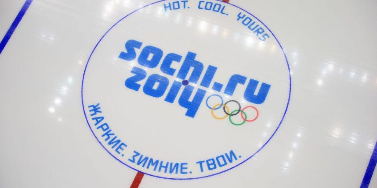 El hashtag sobre los Juegos Olímpicos de Invierno celebrados en Sochi, Rusia. Foto:Getty Images