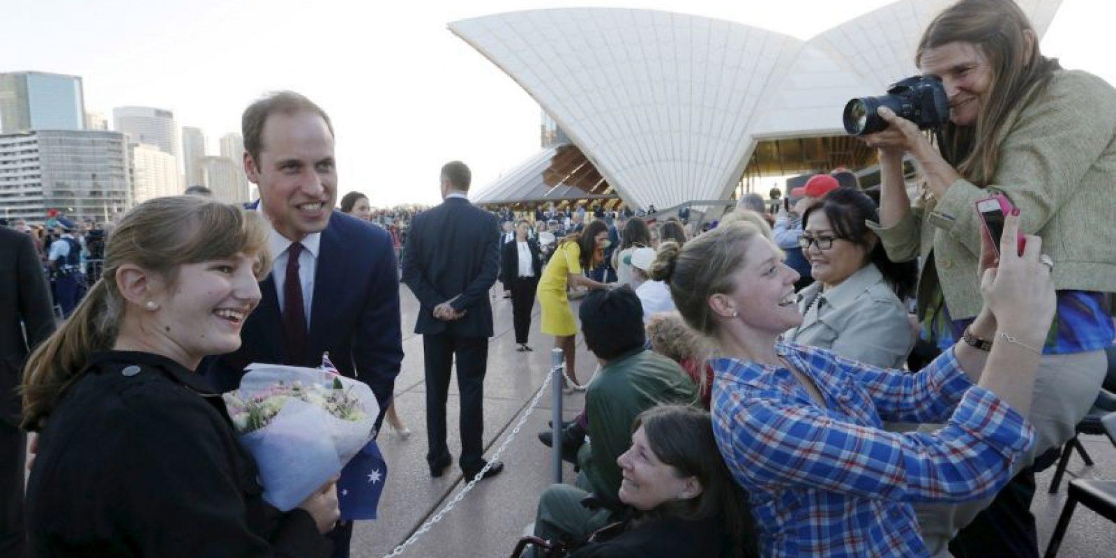 Príncipe William de Inglaterra Foto:Getty Images