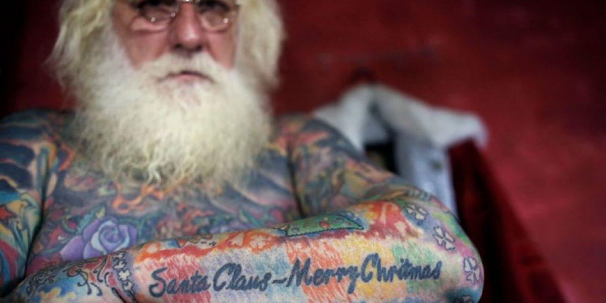 FOTOS: Ya encontramos al Santa más cool y rudo del mundo