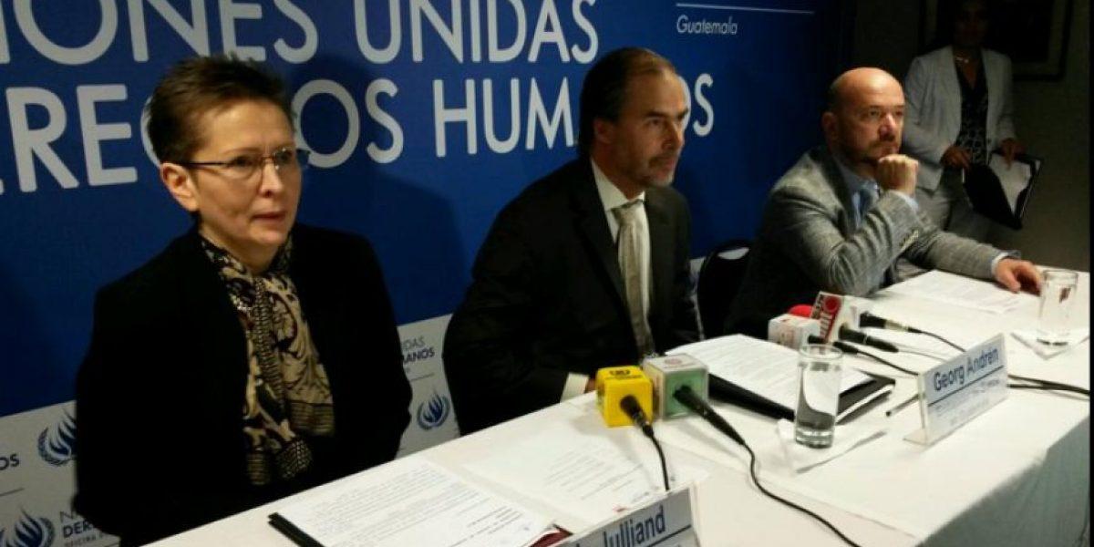 ONU pide que se penalice en caso de Federico Mora