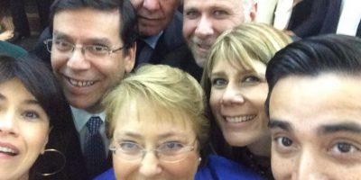 Michelle Bachelet Foto:Twitter.com/lcroxattov