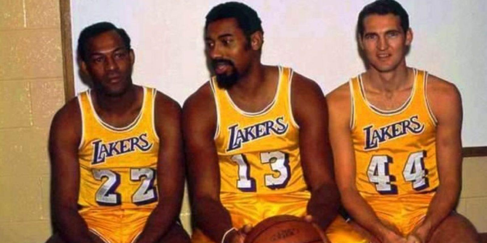 Lakers de Los Ángeles Foto:Getty