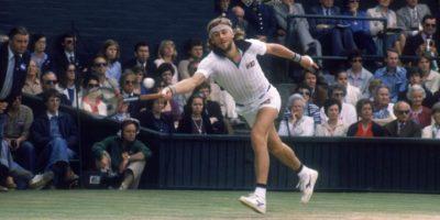 El tenista sueco sumó 49 triunfos, para tener la mejor racha de la Era Open Foto:Getty