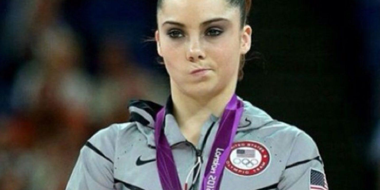 Inmortalizó su gesto en los Juegos Olímpicos de Londres 2012 Foto:Instagram: @mackaylamaroney
