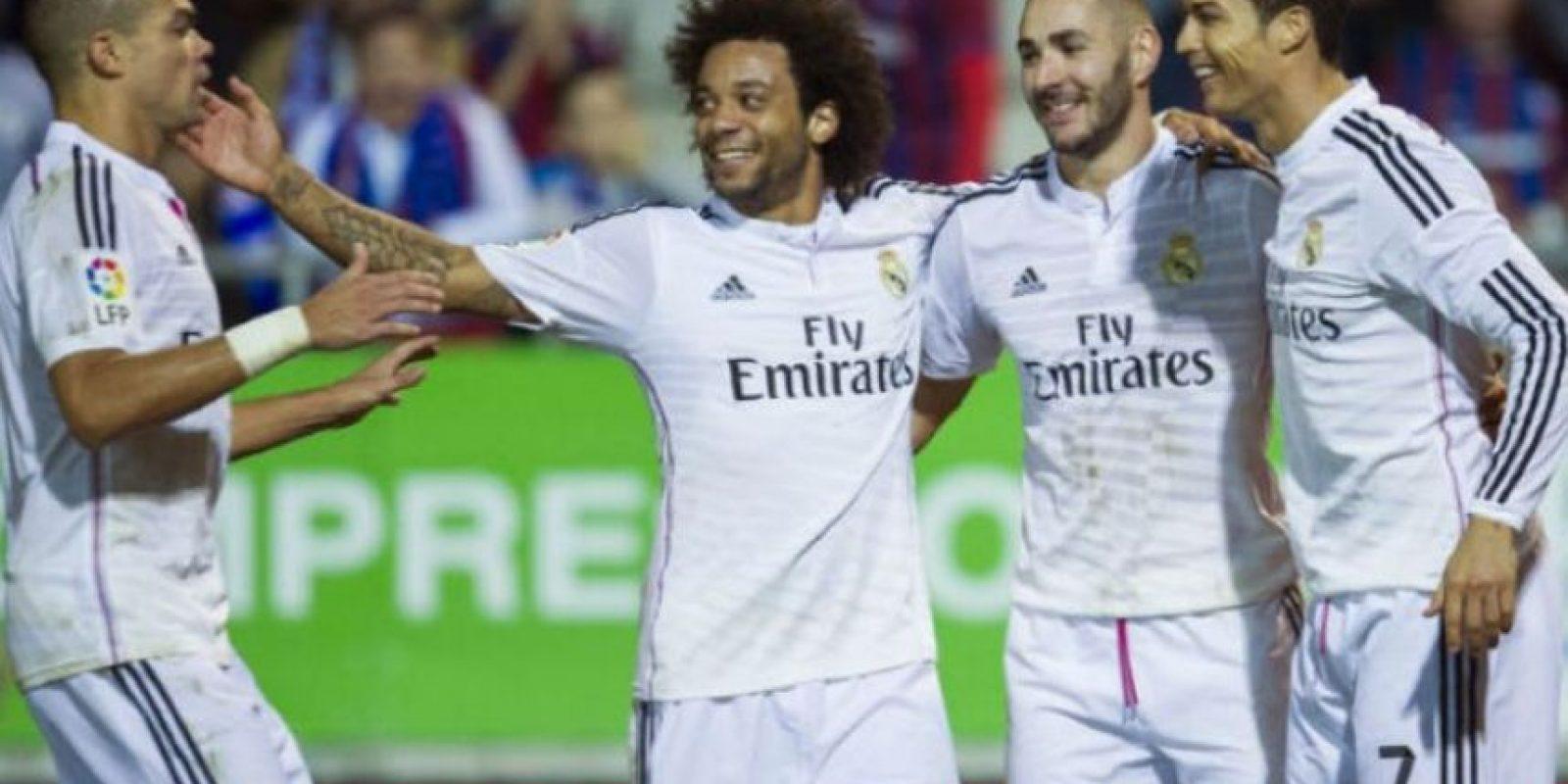 Los blancos llegaron a 19 victorias; es el club español con mejor racha de triunfos de todos los tiempos Foto:Getty