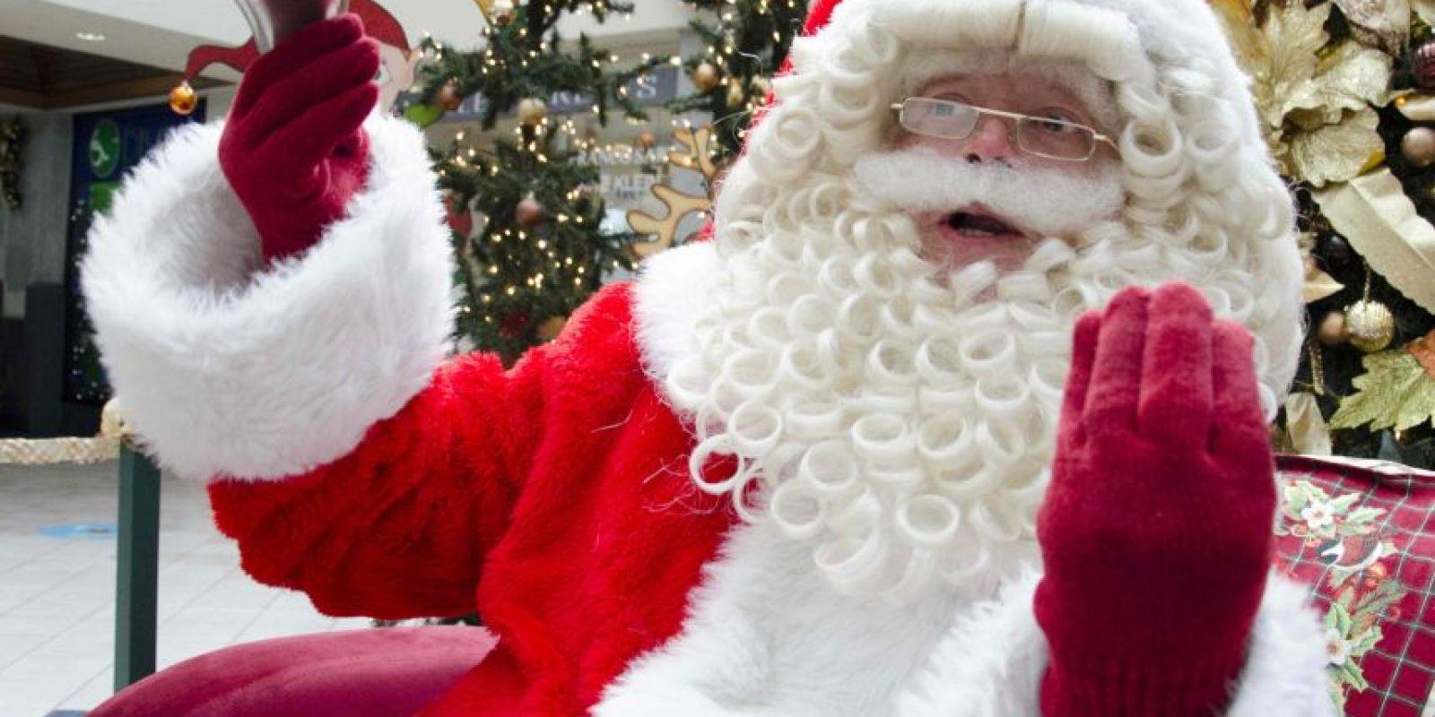 Santa le deseo feliz Navidad a los guatemaltecos Foto:Luis Carlos Nájera