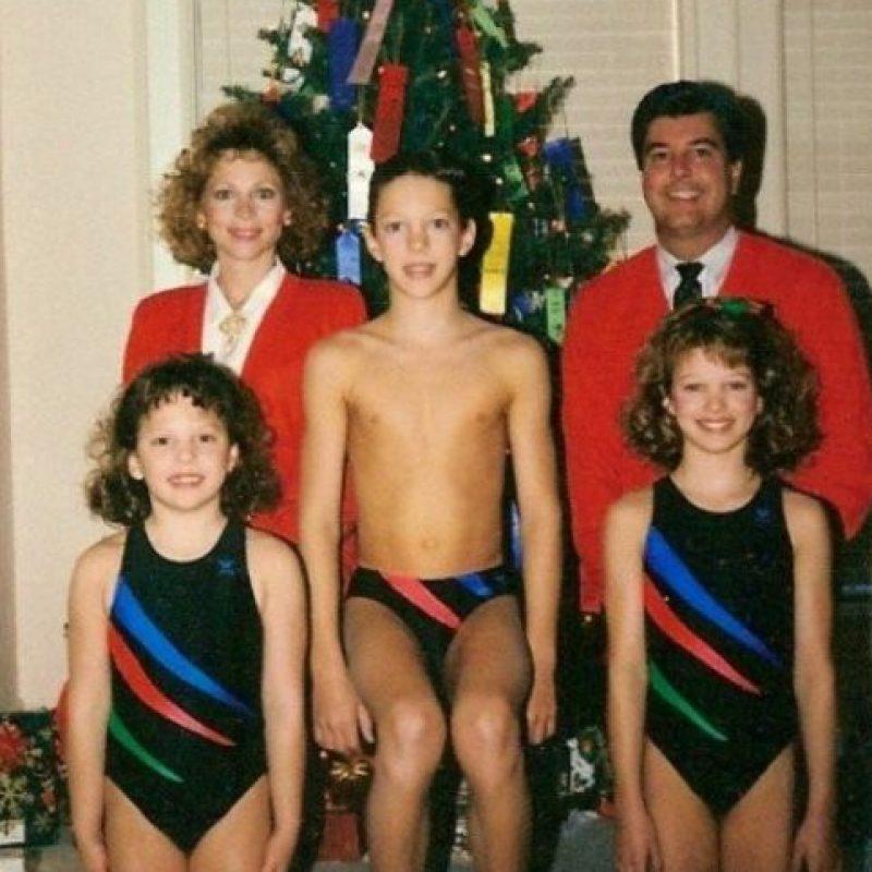 Celebrando la Navidad en ¿vestido de baño? Foto:Awkward Family Photos