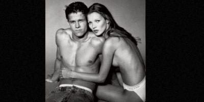 Lo hizo con Mark Walhberg Foto:Calvin Klein