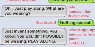 """Ella no sabe hacer """"sexting"""" Foto:Vistoenlasredes"""