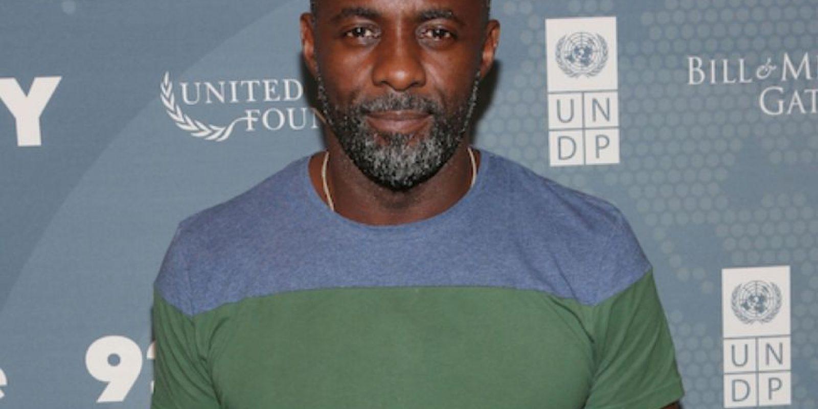 Idris Elba, conquistando a muchas con su apariencia este año. Foto:Getty Images