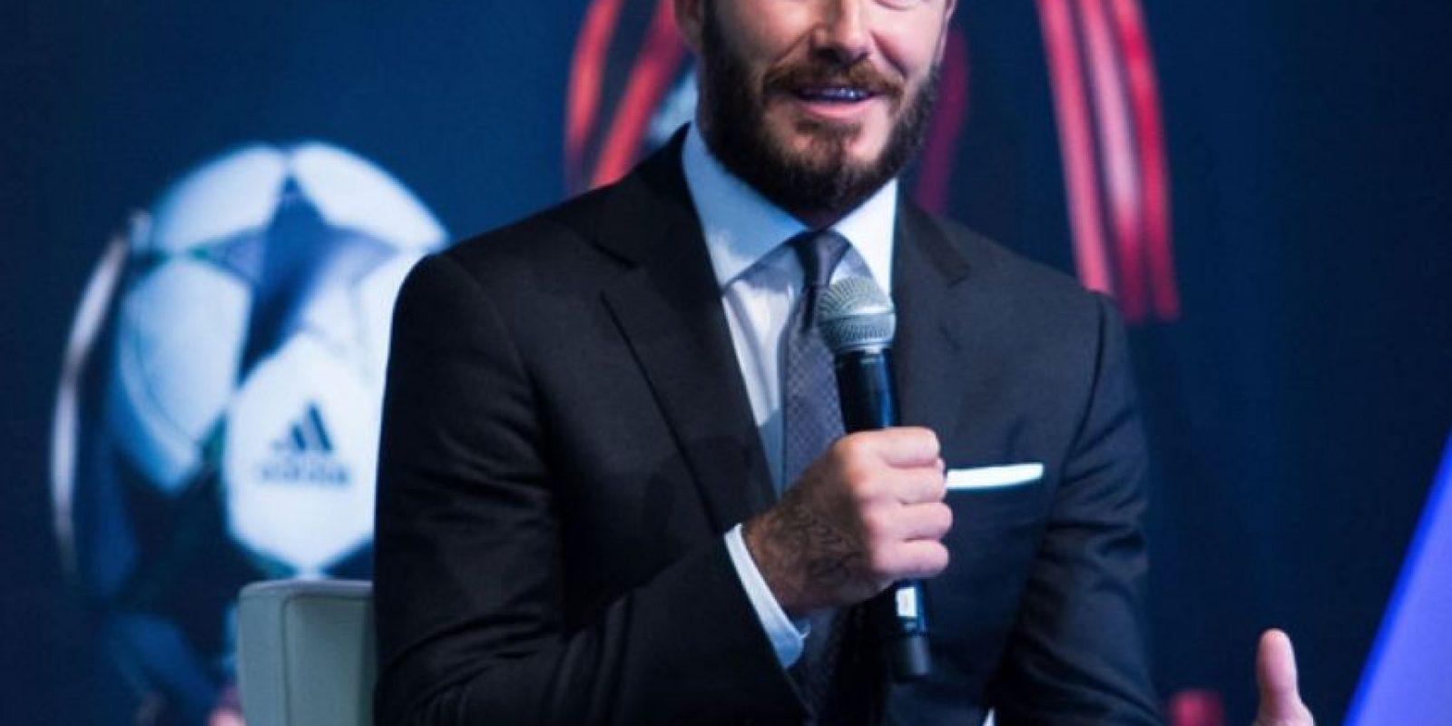 ¿Qué decir de David Beckham, siempre sexy? Foto:Getty Images