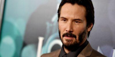 Keanu Reeves vuelve con un look que no usaba desde 2003 Foto:Getty Images